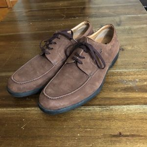 Fratelli Rossetti Suede Leather Italy Oxford Lace